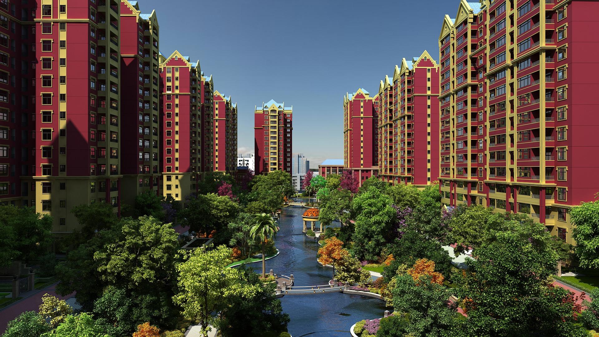 Edificios-Lago-Jardines